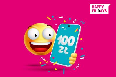 Voucher 100 zł na smartfony w abonamencie w T-Mobile
