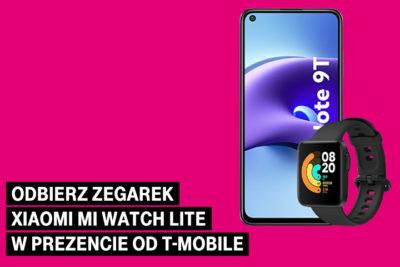 Odbierz zegarek Xiaomi Mi Watch Lite w prezencie od T-Mobile