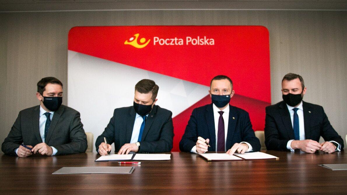 Poczta Polska i AMW REWITA zawarły porozumienie o współpracy