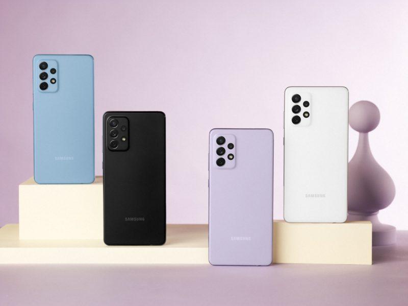 Samsung Galaxy A52, A52 5G i A72 – innowacje stają się dostępne dla wszystkich