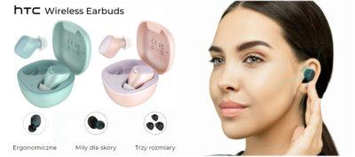 Słuchawki HTC Wireless Earbuds w nowych kolorach