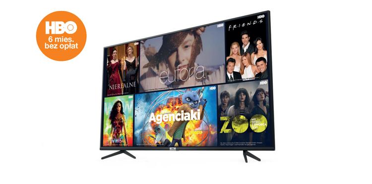 """Wiosenna oferta w Orange z telewizorem 55"""" i smartfonami oraz HBO bez opłat"""
