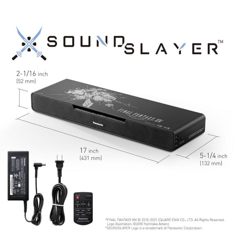 Panasonic SC HTB01FF SoundSlayer soundbar wymiary