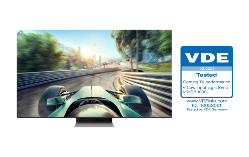 Photo Neo QLEDs Receive Industry First Gaming TV Performance Certification from VDE 1