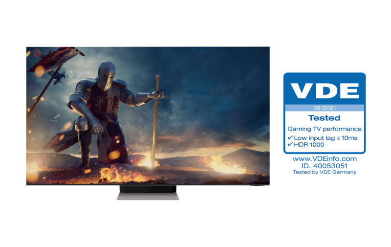 Photo Neo QLEDs Receive Industry First Gaming TV Performance Certification from VDE 3