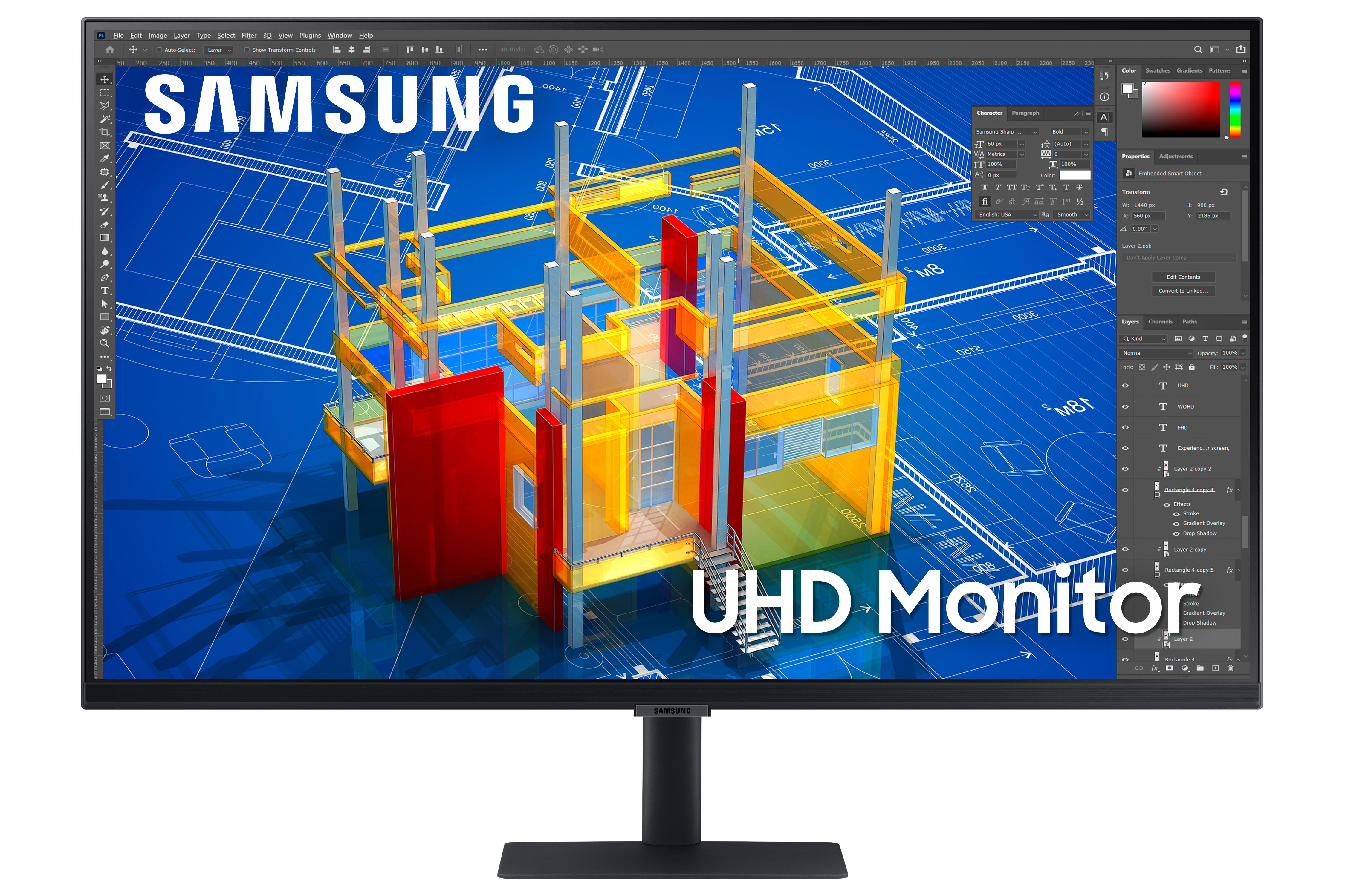 Samsung prezentuje nowe serie monitorów dla biznesu i profesjonalistów – S8, S7 i S6