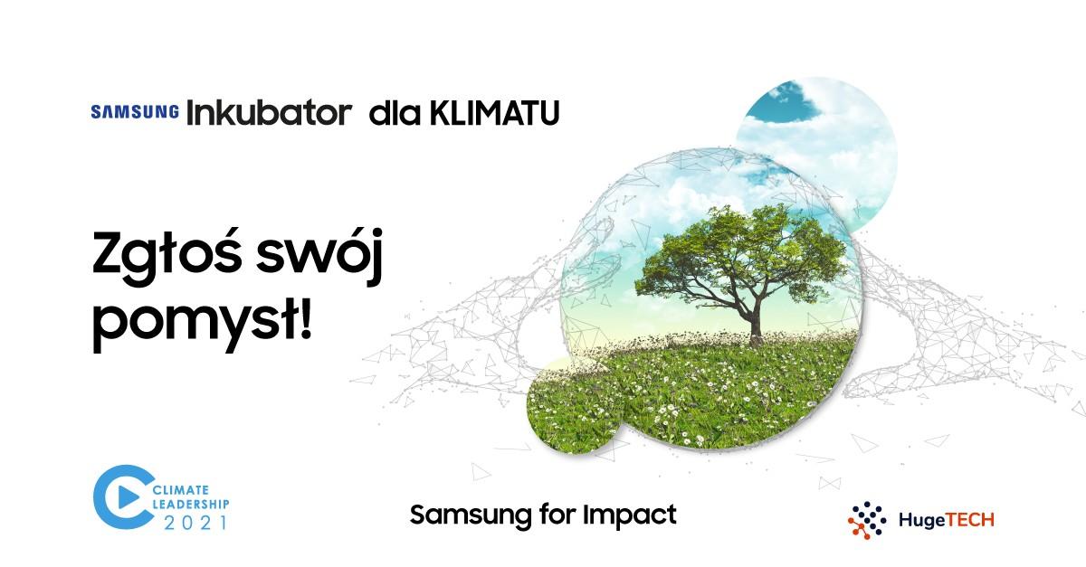 Czy technologie są szansą dla klimatu – Samsung dołącza do kolejnej edycji Climate Leadership