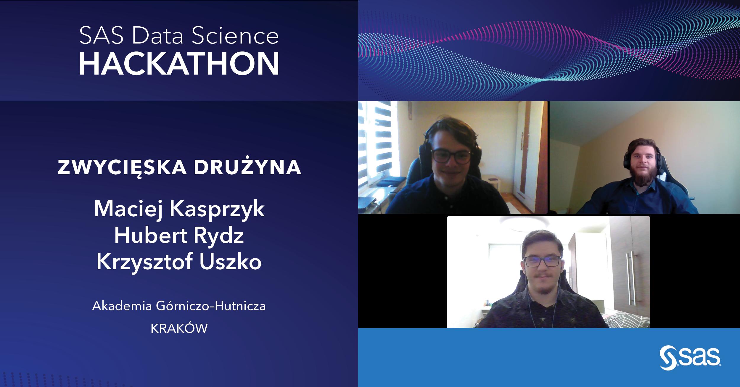 SAS Data Science Hackathon - turniej analityczny z misją