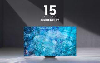 Samsung już po raz 15. globalnym liderem rynku telewizorów