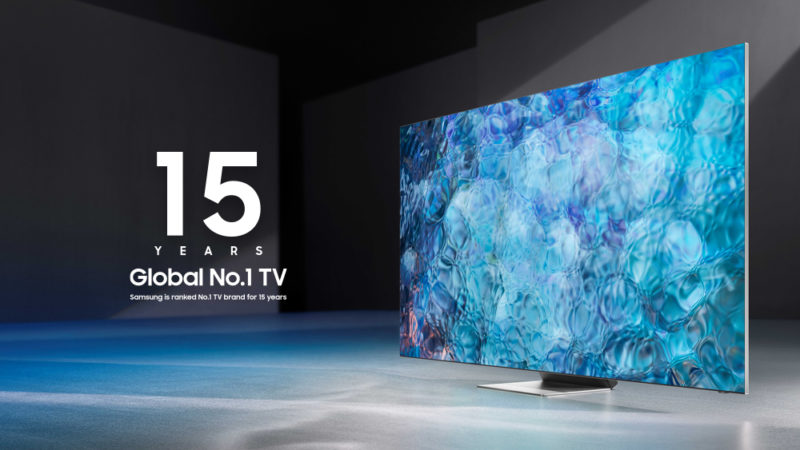 Samsung TV Global 1st Place for 15 Years 02