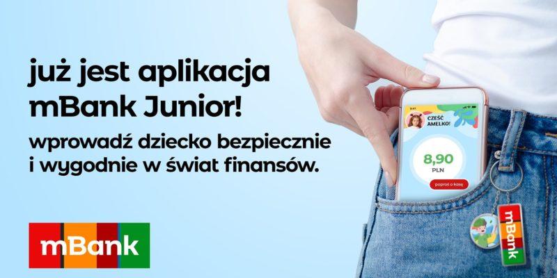 Już jest - Aplikacja mobilna do konta Junior