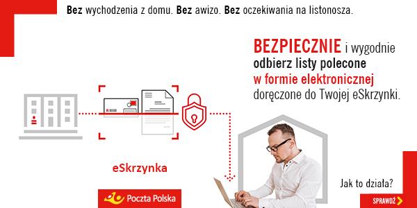 Już 12 700 użytkowników eSkrzynki Poczty Polskiej