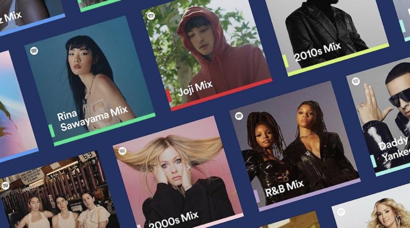 Spotify przedstawia – Spotify Mixes: personalizowane listy odtwarzania z Twoimi ulubionymi wykonawcami, gatunkami i dekadami