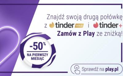 Zamów z Play Tinder Plus lub Tinder Gold