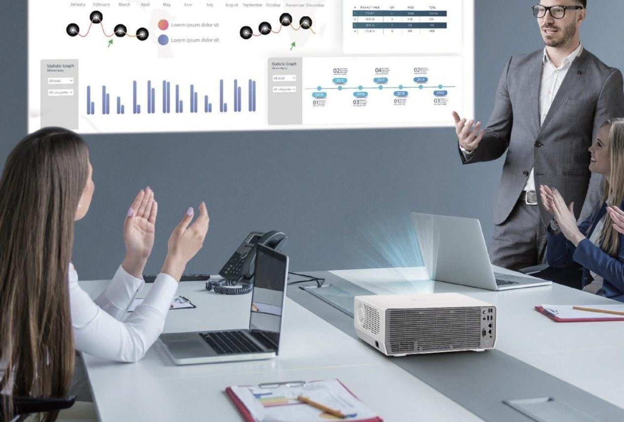 Nowe projektory biznesowe ProBeam w ofercie LG – jeszcze lepsza wydajność i wygoda użytkowania