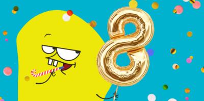 8 GB z okazji 8 urodzin nju mobile