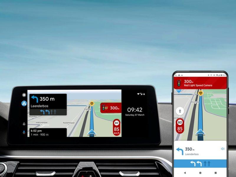 Aplikacja TomTom AmiGO dostępna na Android Auto