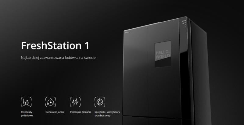 Synology przedstawia pierwszy model w serii FreshStation 1