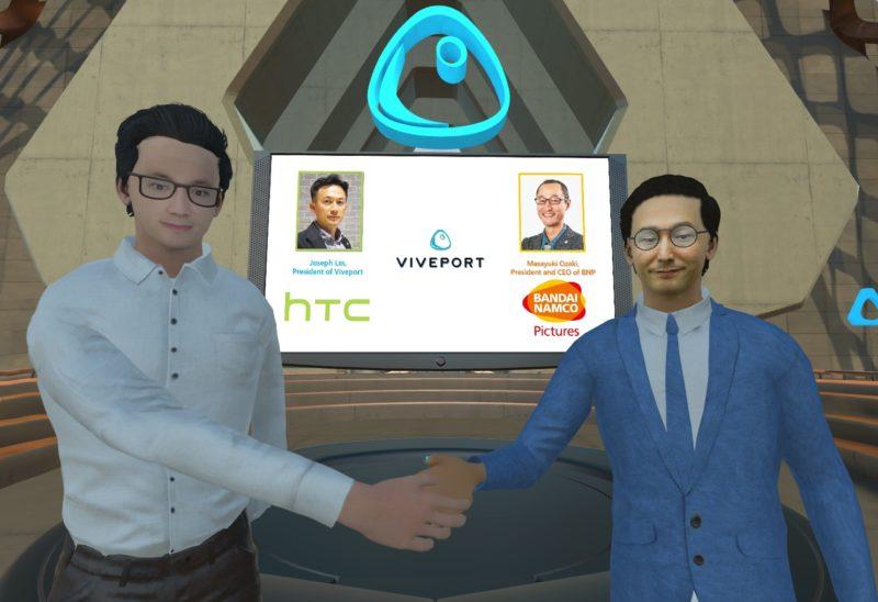 HTC VIVEPORT zawiera partnerstwoz BANDAI NAMCO PICTURES, aby tworzyć gry VR oparte na słynnych anime