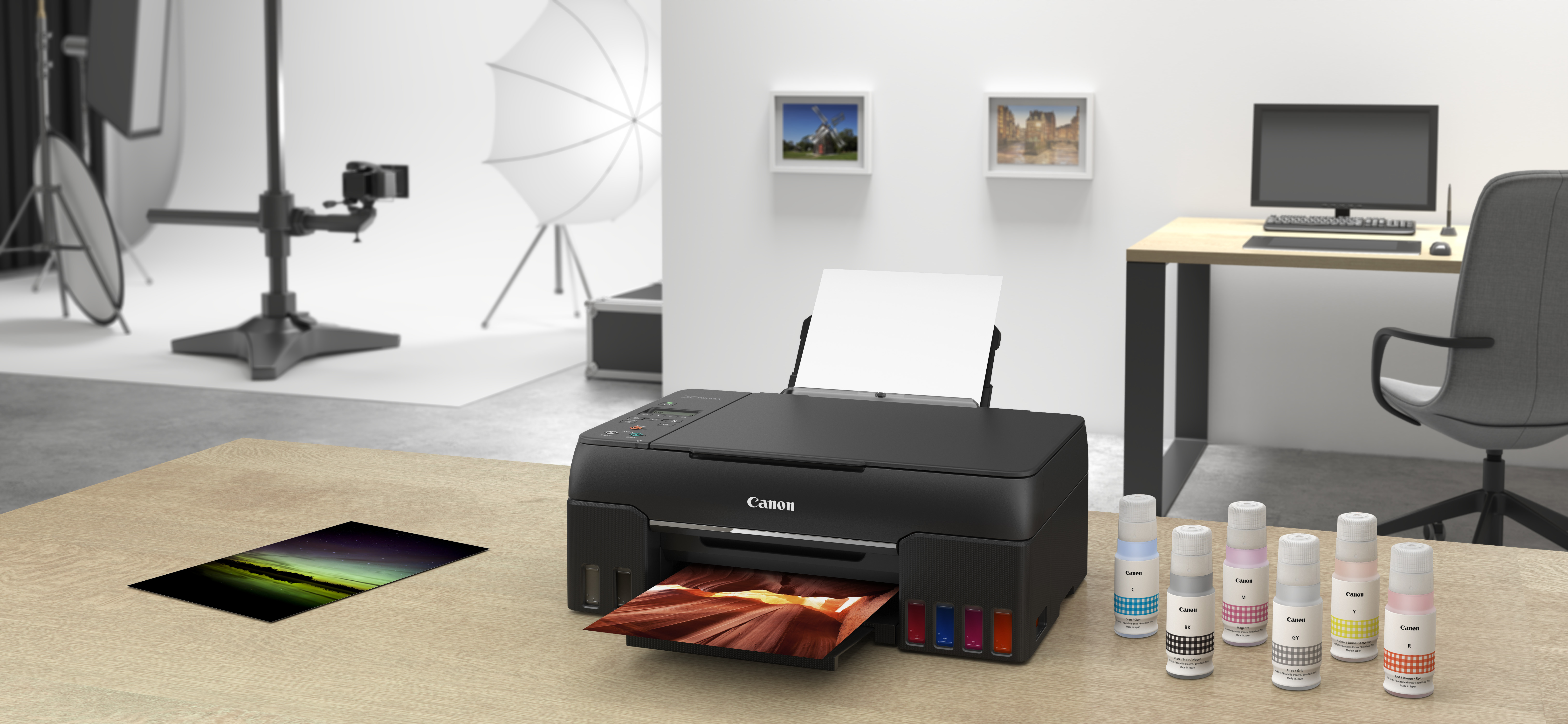Nowa generacja drukarek Canon z systemem MegaTank – jakość i ilość