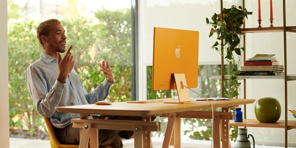 Apple zaprezentowało bardzo cienki iMac oparty na procesorze M1 i wyświetlaczem 4,5 K