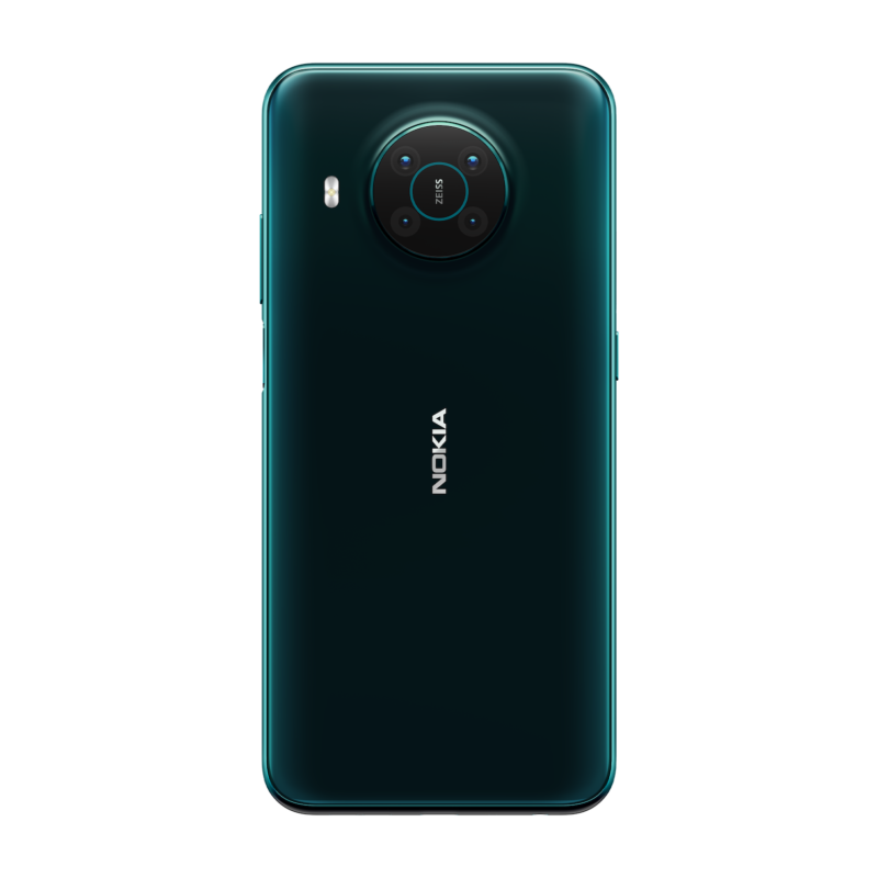 nokia X10 back forest green