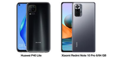 Huawei P40 Lite i Xiaomi Redmi Note 10 Pro 6/64 GB taniej nawet o ponad 120 złotych