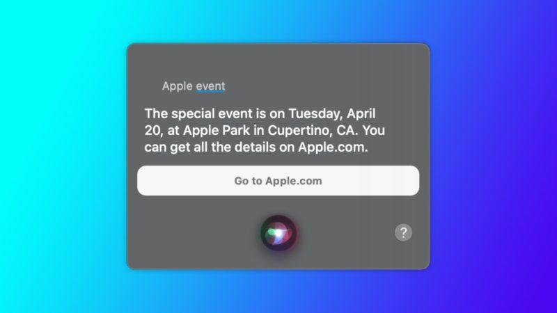 Apple zaprezentuje nowe urządzenia 20 kwietnia