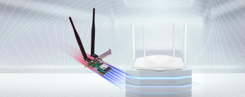 Nowości WiFi 6 od Tenda - router TX3 i karta sieciowa E30