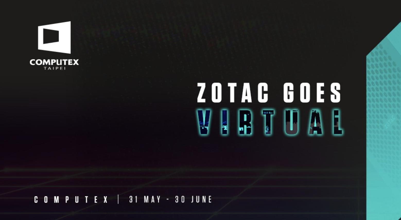 ZOTAC weźmie udział w wirtualnych targach COMPUTEX 2021