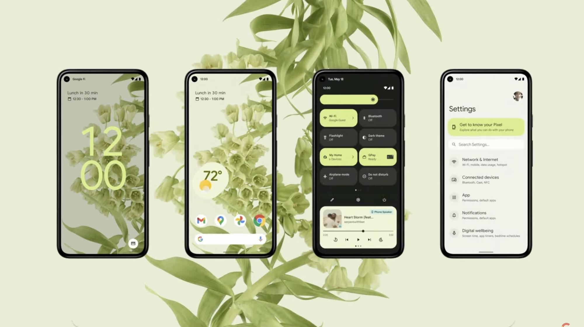 Całkowicie nowy wygląd – co nowego w Android 12?