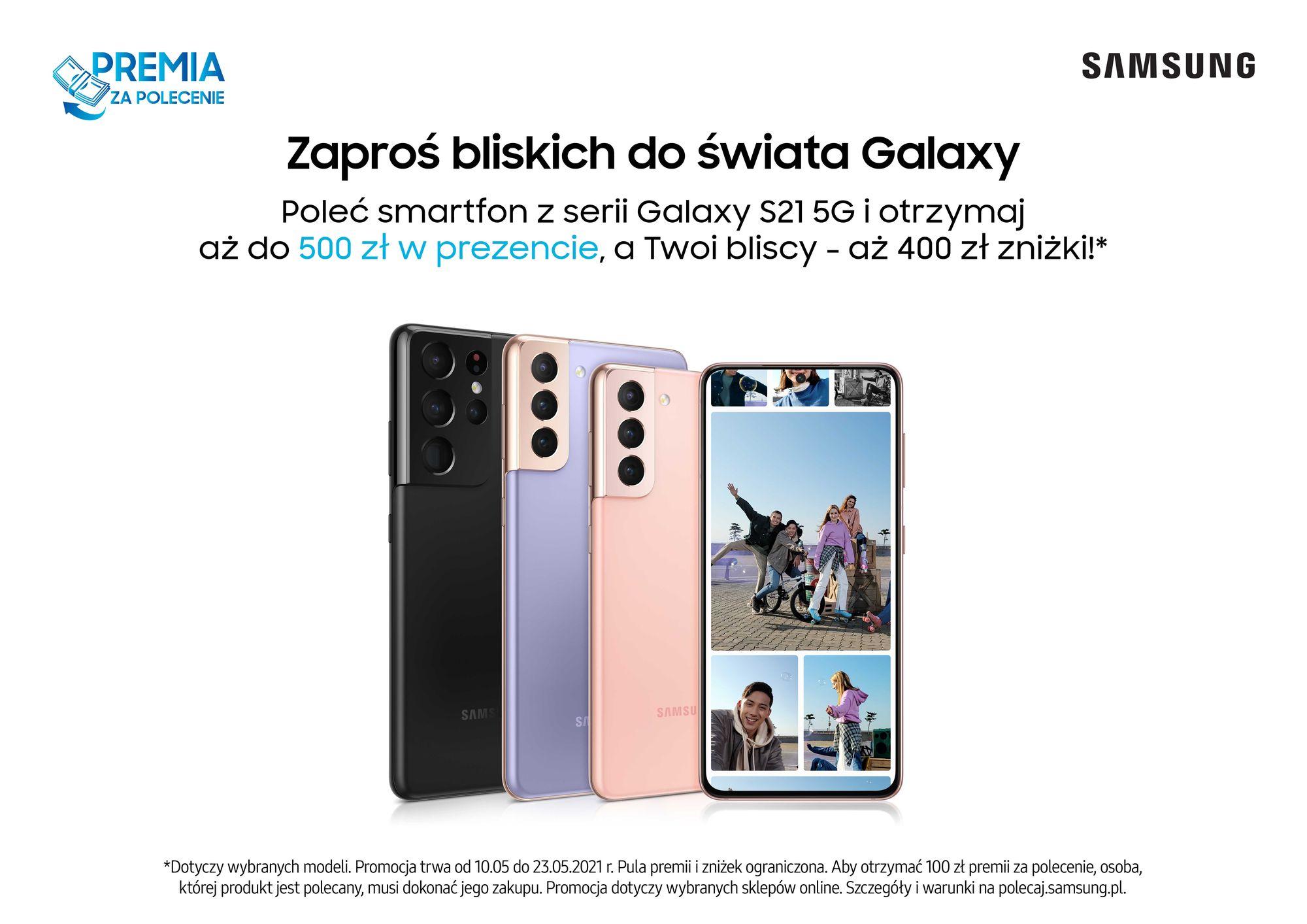 Samsung rusza z nowym programem poleceń