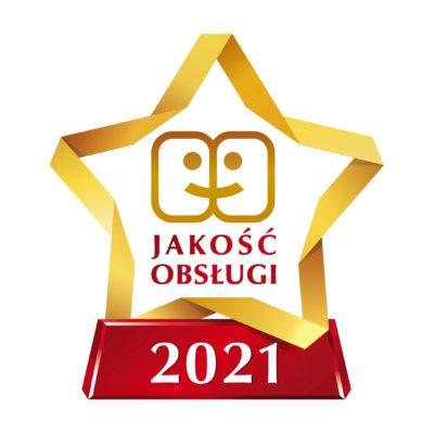 Gwiazda jakosc obslugi 2021