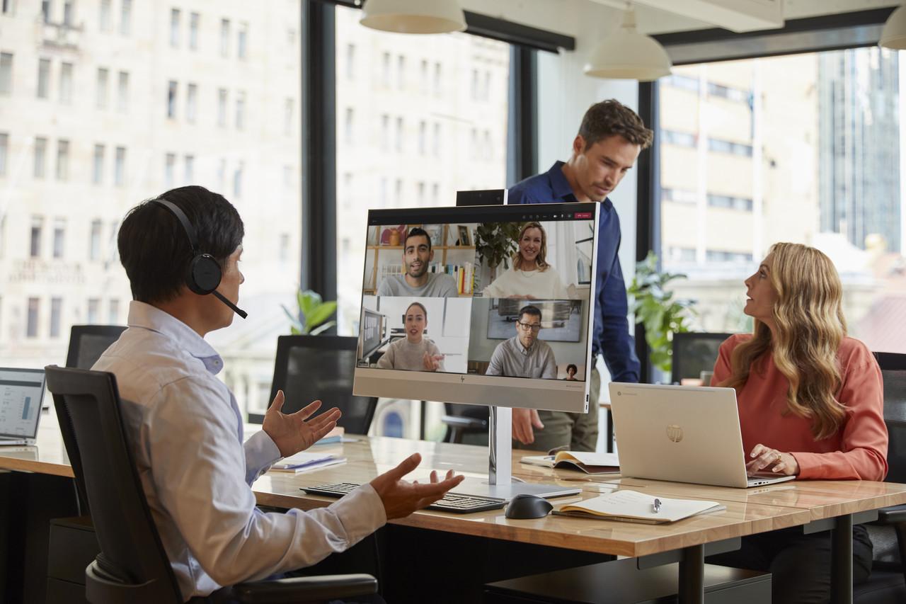Komputer All-in-One HP EliteOne 800 łączy ludzi w hy-brydowych środowiskach pracy