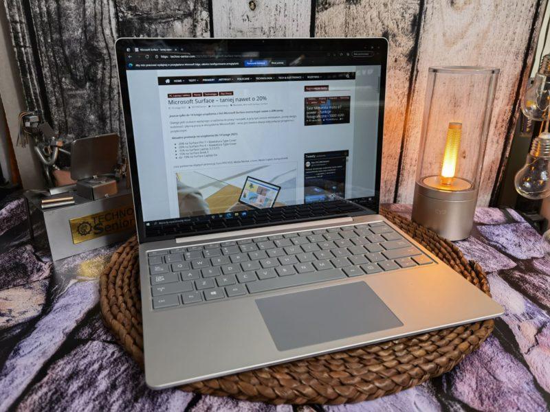 Microsoft Surface Laptop GO – niewielki i bardzo lekki laptop