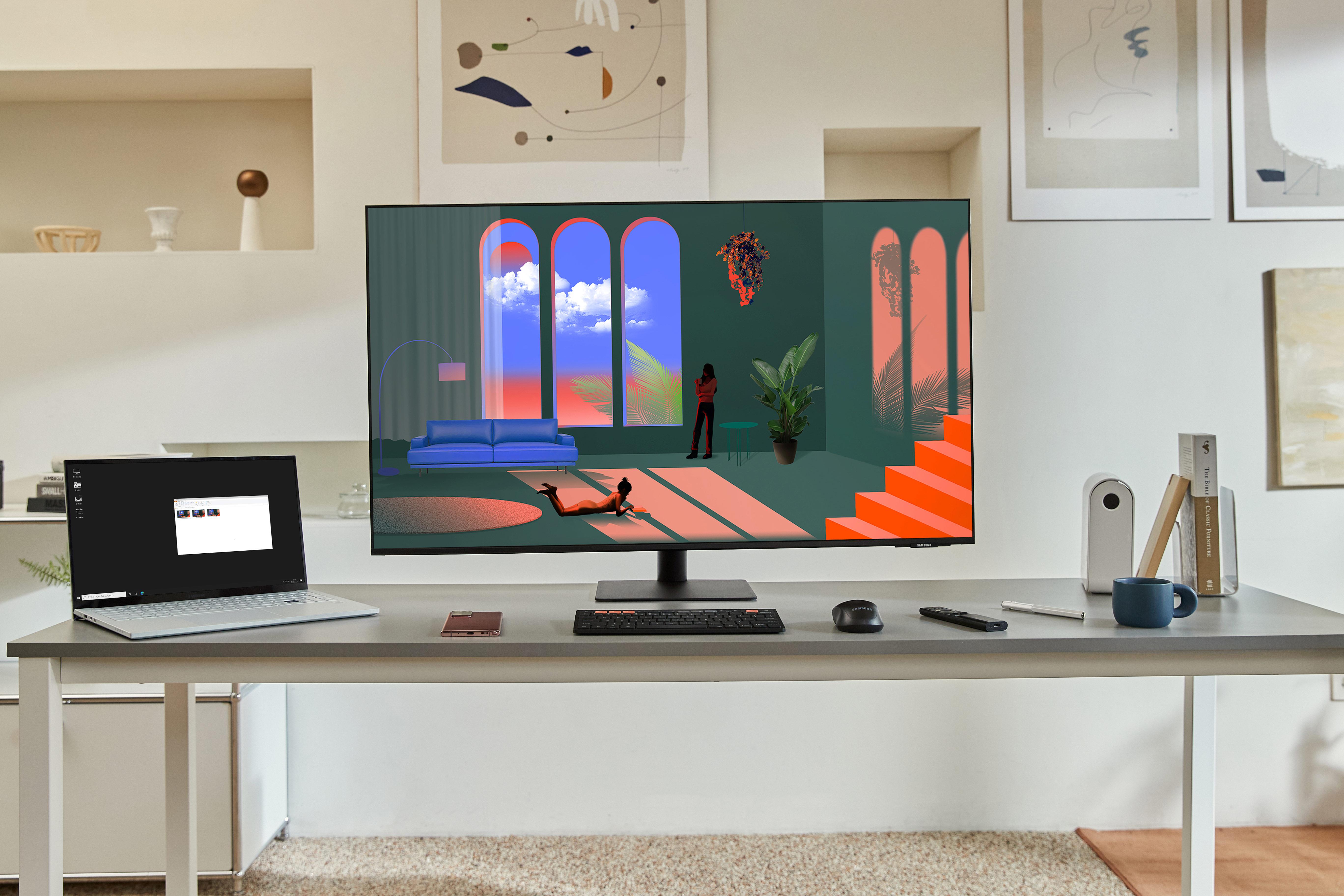 Samsung prezentuje nowe monitory z serii Smart Monitor