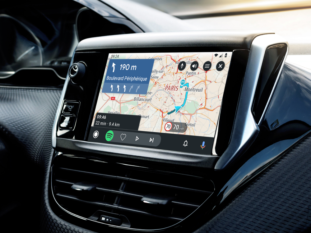 Aplikacja TomTom GO Navigation teraz dostępna na Android Auto