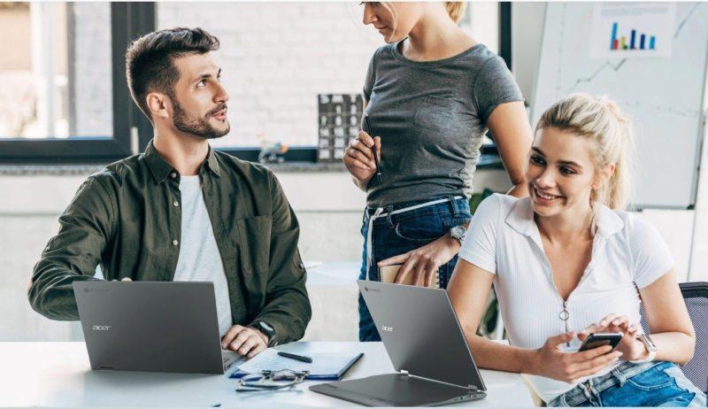 Acer: Konwertowalny Chromebook Spin 713 dostępny w Polsce w dwóch wersjach