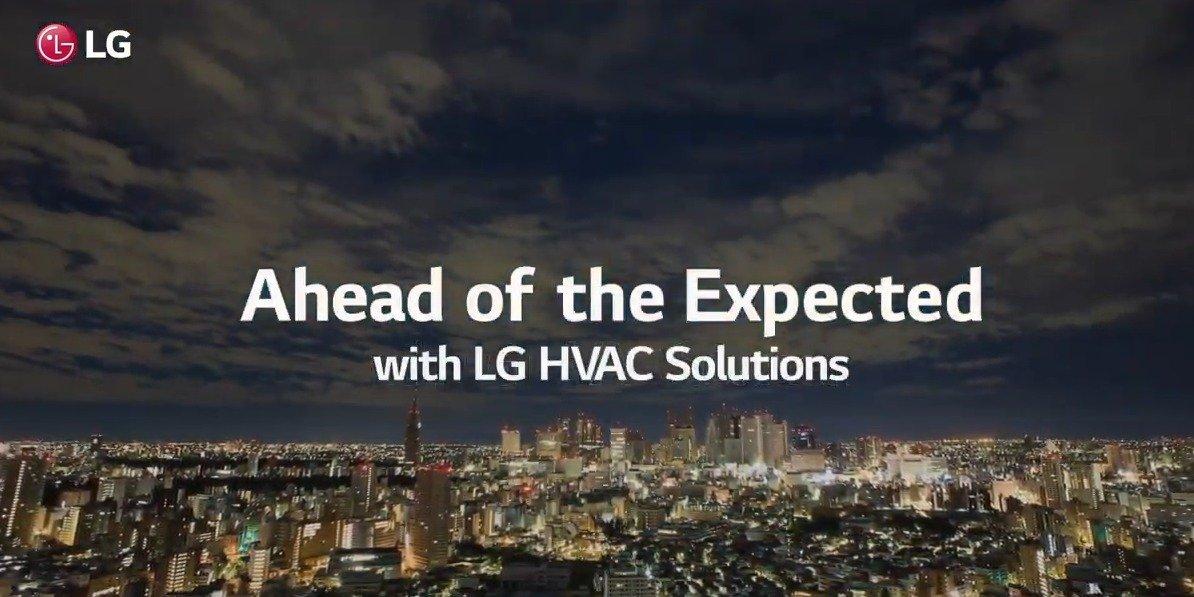 Wyprzedzamy oczekiwania: rozwiązania LG HVAC bohaterami nowego filmu marki