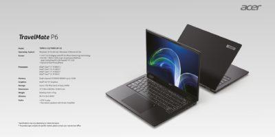 Nowa seria lekkich i wydajnych notebooków TravelMate P6