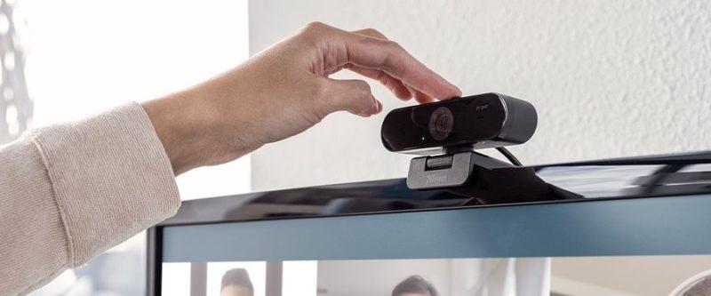 Trust prezentuje kamerę internetową 2K do prowadzenia rozmów wideo w wysokiej jakości w domu i (domowym) biurze