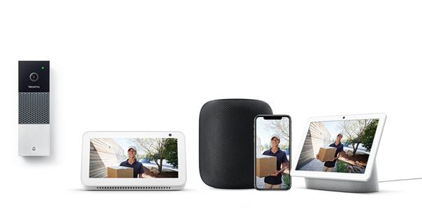 Inteligentny Wideodzwonek Netatmo ze wsparciem Google Asystent, Amazon Alexa i Apple Siri