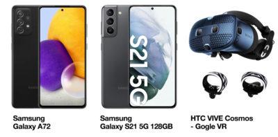 Tańsze Samsungi i gogle VR HTC