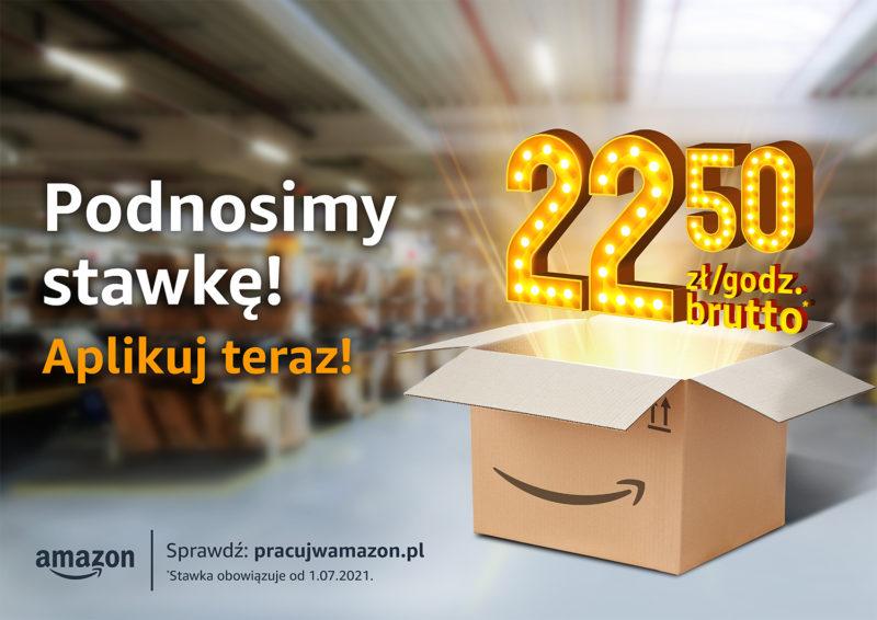 Amazon rekrutuje i podnosi wynagrodzenia w Polsce Material prasowy