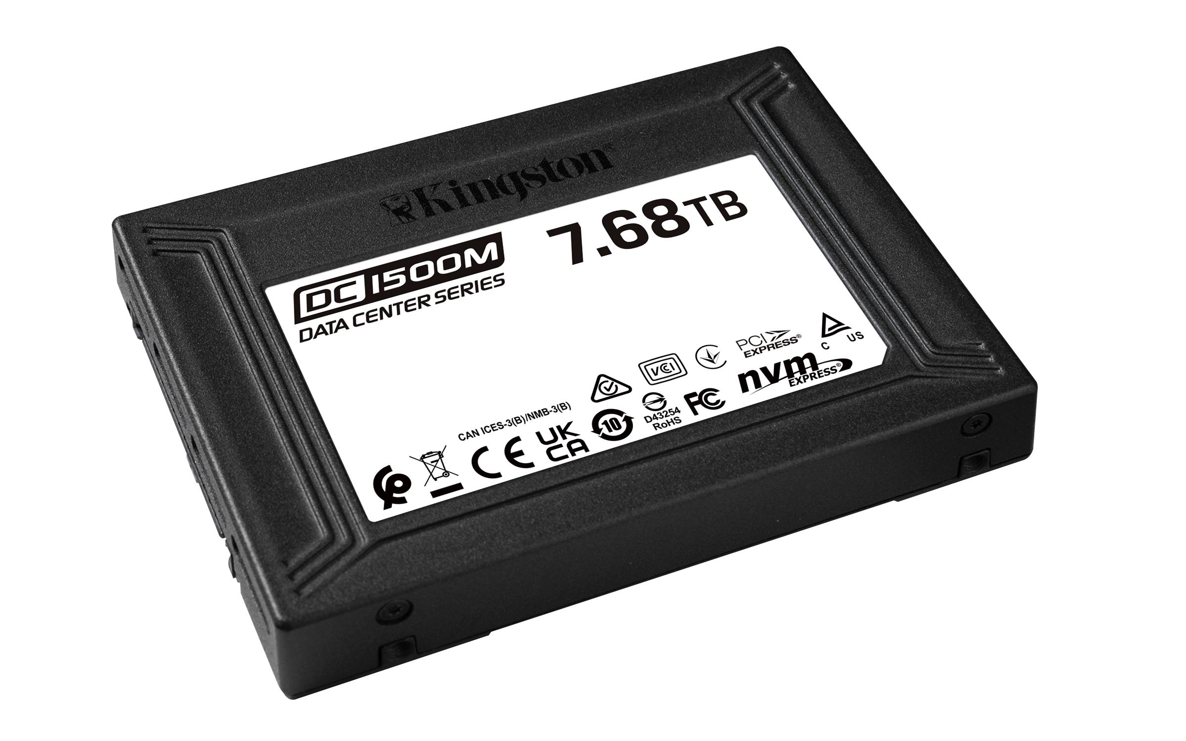 Kingston Digital wprowadza na rynek dysk DC1500M NVMe U.2 przeznaczony dla centrów danych