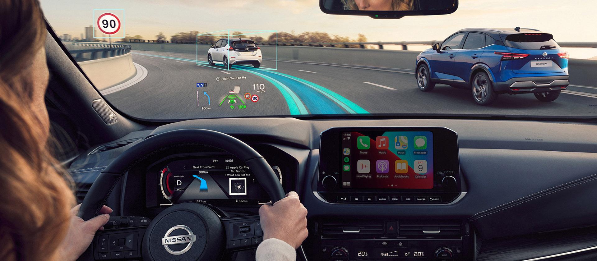 Technologia zaawansowanego mapowania TomTom w nowym Nissanie Qashqai