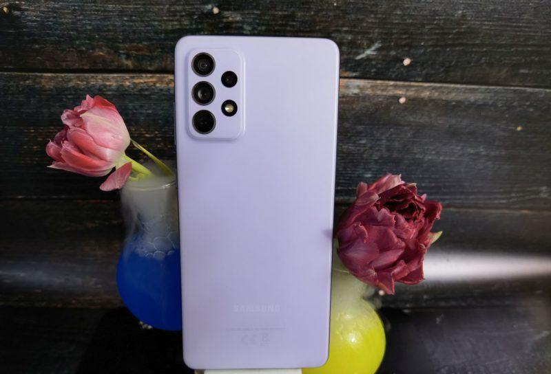 Test Samsung A72 - smartfon z wyświetlaczem Super AMOLED, poczwórnym aparatem i baterią 5000 mAh