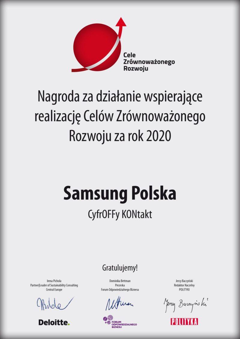 Samsung nagroda