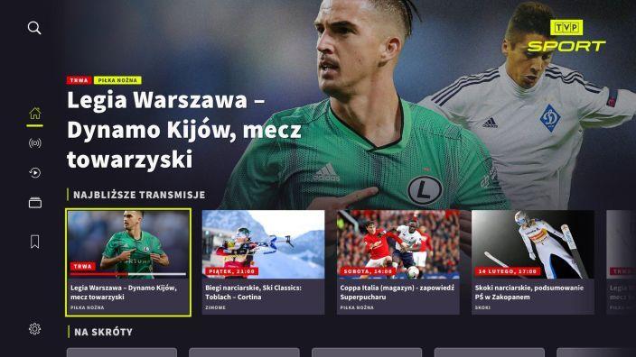 Mecze piłkarskie w Samsung Smart TV