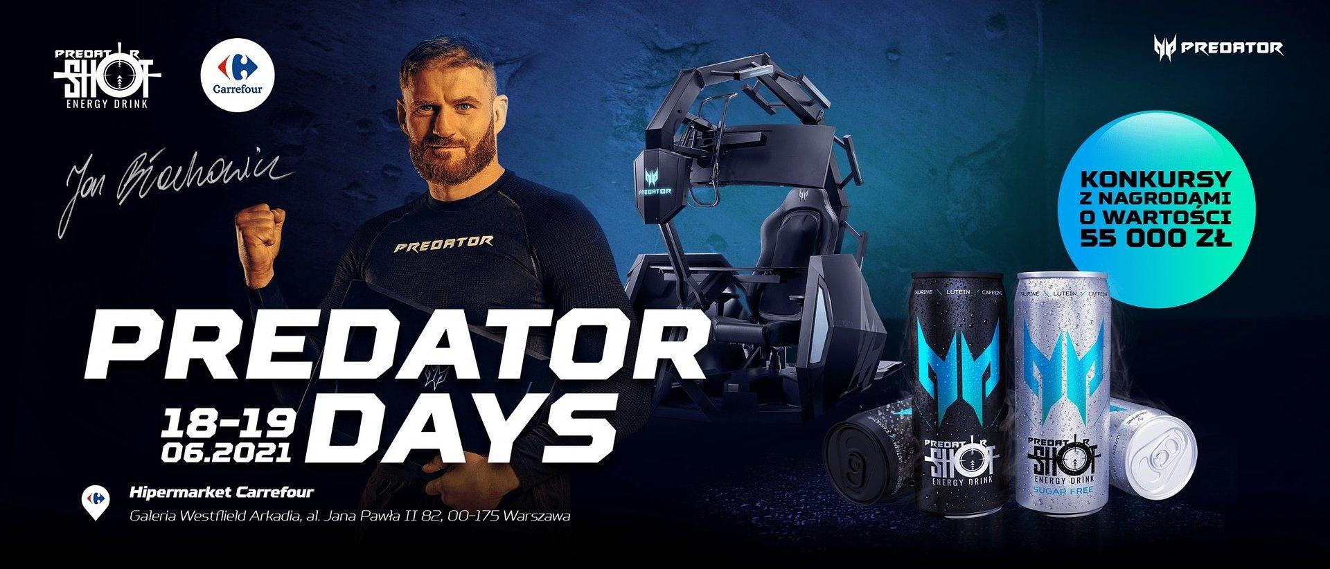Predator Days: Zagraj z Janem Błachowiczem i zdobądź sprzęt gamingowy marki Predator